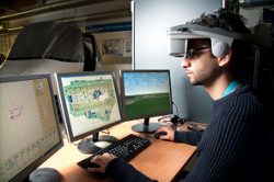 Photograph - Air Traffic Control Simulation at Coventry University